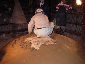 炭焼き窯修復ワークショップ 活動報告